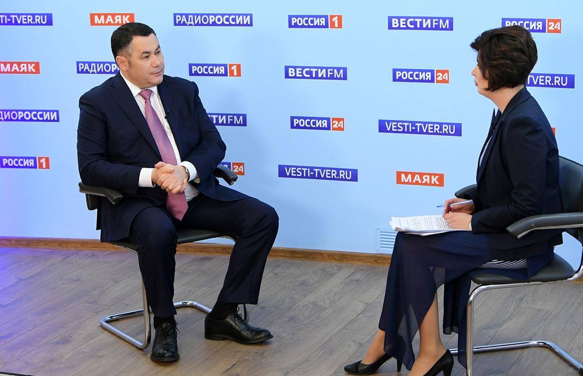 Игорь Руденя вновь даст интервью в прямом эфире - новости Афанасий