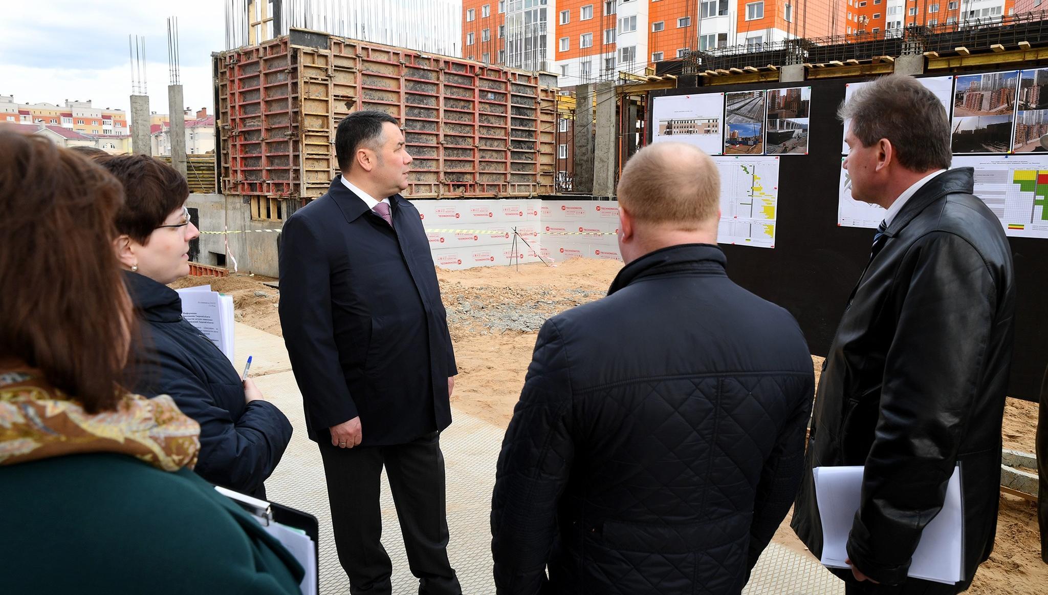 В Твери продолжается строительство детского сада на улице Склизкова - новости Афанасий