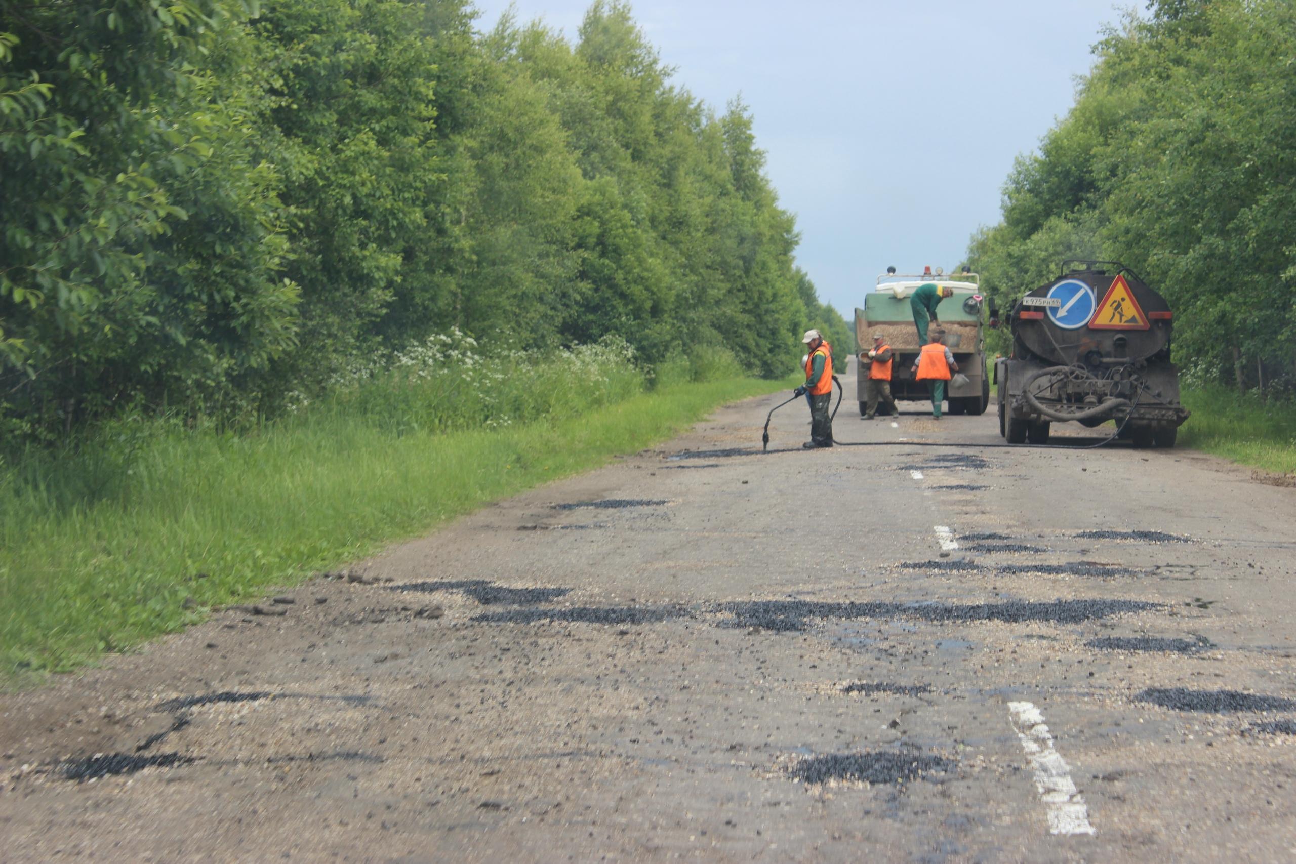 В Тверской области начали ремонт региональных дорог - новости Афанасий