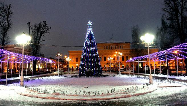 Жителей и гостей Твери приглашают встретить Новый год в Горсаду