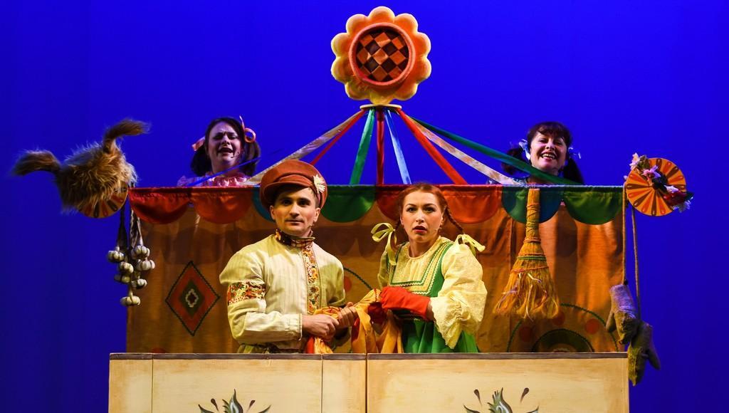 В Тверском театре кукол папы могут посмотреть «Потешную сказку» за 1 рубль - новости Афанасий