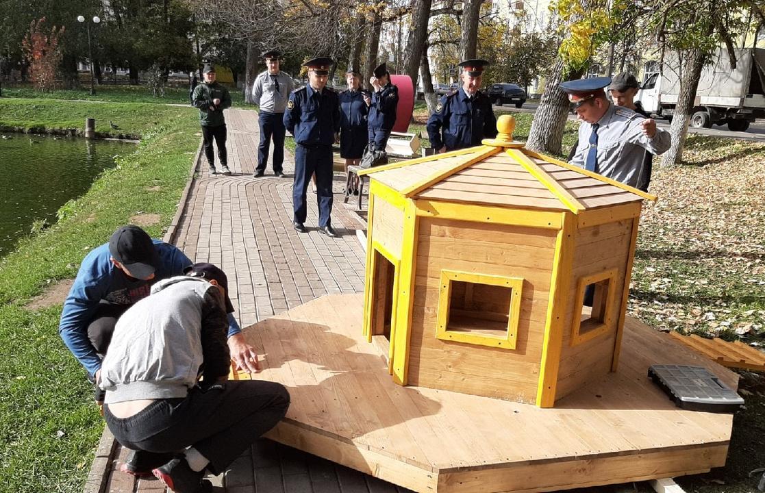 В Ржеве Тверской области уткам построили новый домик - новости Афанасий