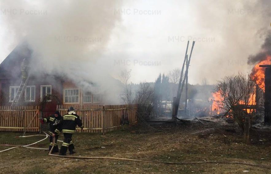 Этой весной пожарным Тверской области удалось спасти от огня более 200 домов - новости Афанасий