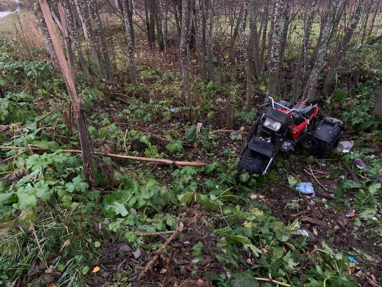 В Тверской области тяжёлые травмы получил пьяный водитель трицикла - новости Афанасий