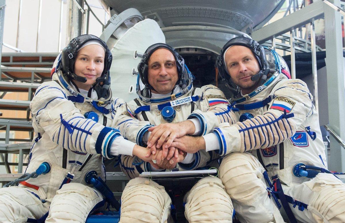 «Росгосстрах» застраховал «киноэкипаж», стартовавший к Международной космической станции
