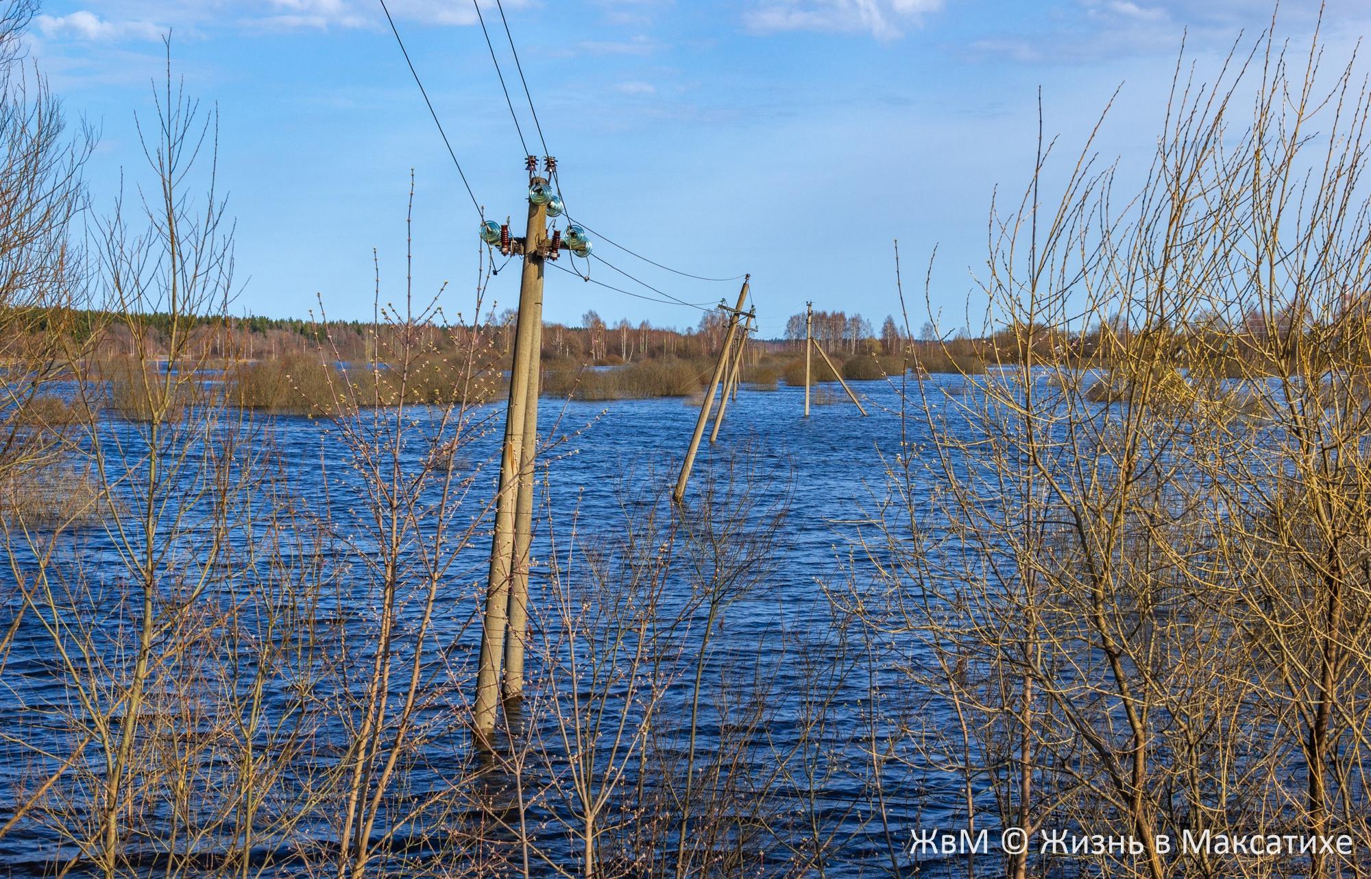 В Максатихе Тверской области вода затапливает улицы и огороды - новости Афанасий
