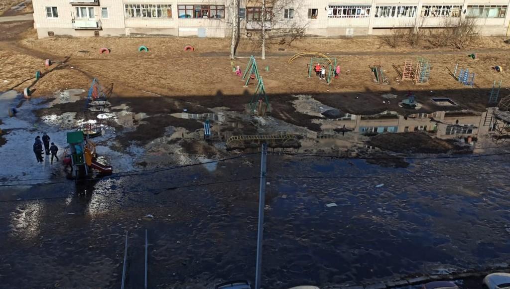 В Тверской области начало затапливать улицы и дворы - новости Афанасий