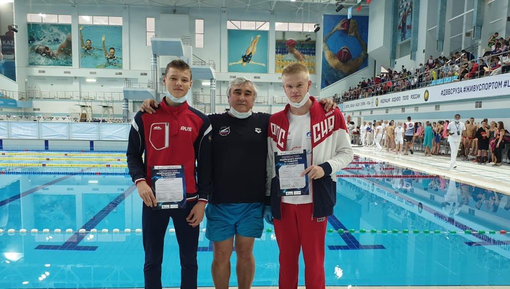 Тверские пловцы завоевали 11 медалей Чемпионата и Первенства ЦФО - новости Афанасий