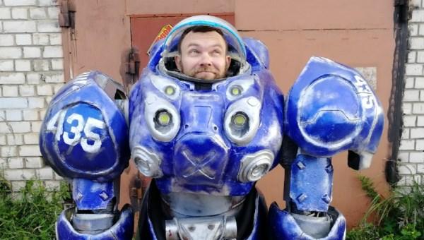 Житель Твери создал костюм пехотинца из StarCraft II для участия в Игромире 2019