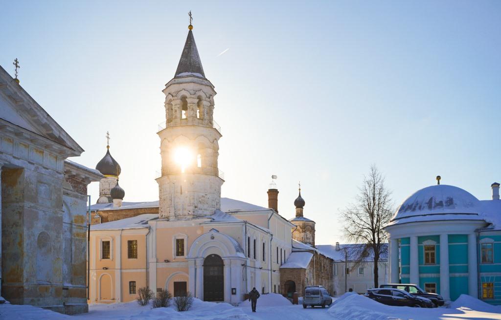Как идет реставрация Борисоглебского монастыря в Торжке