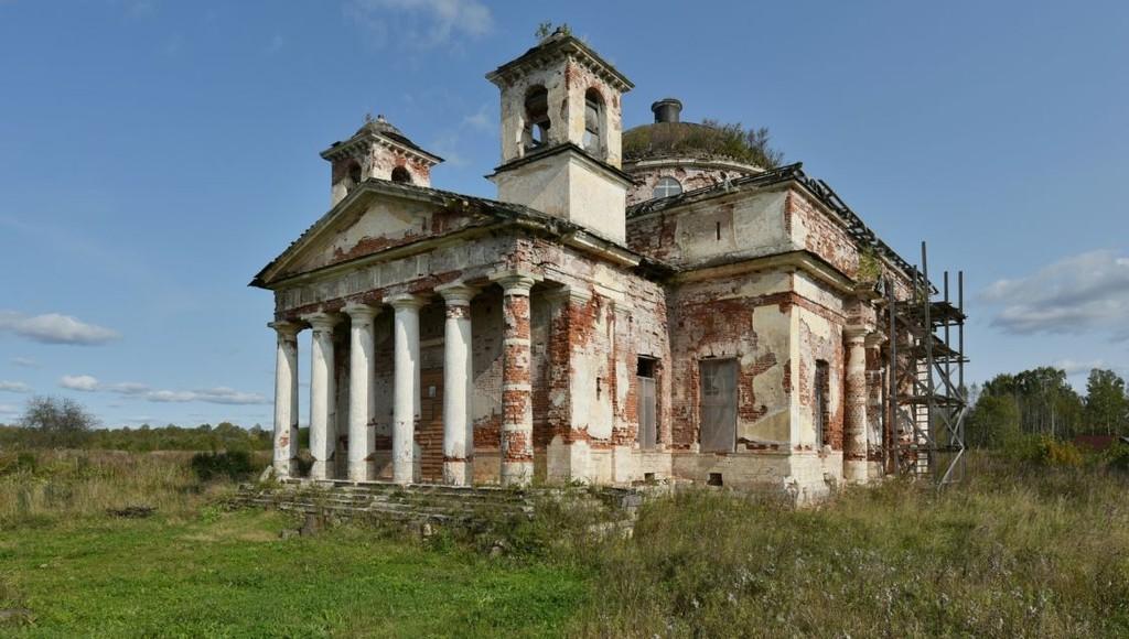 Церковь Петра и Павла в Торжокском районе Тверской области может быть восстановлена - новости Афанасий