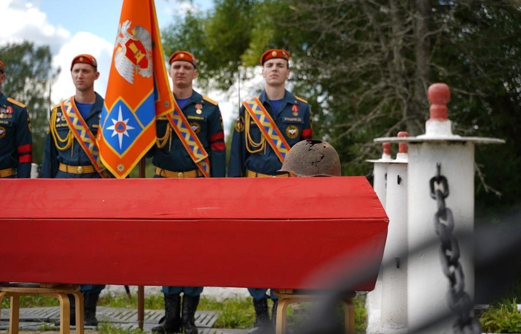 В Тверской области перезахоронены семь солдат Великой Отечественной войны - новости Афанасий