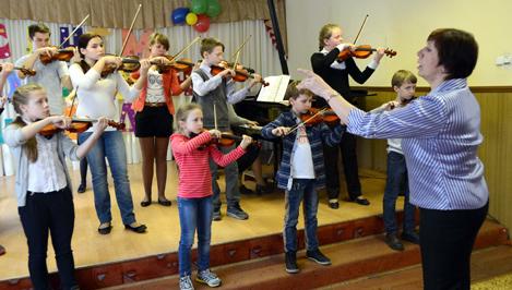 Кимрская школа искусств №1 отмечает 60-летний юбилей