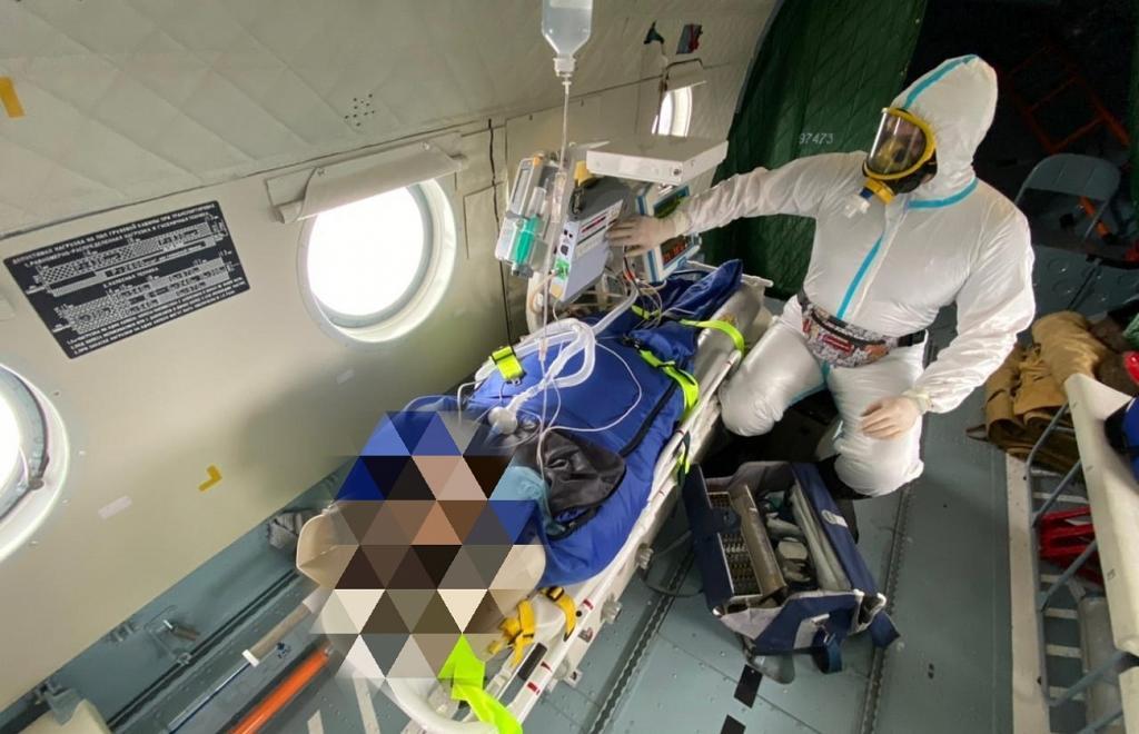 В Тверской области для больной ковидом в тяжелом состоянии понадобился вертолет - новости Афанасий