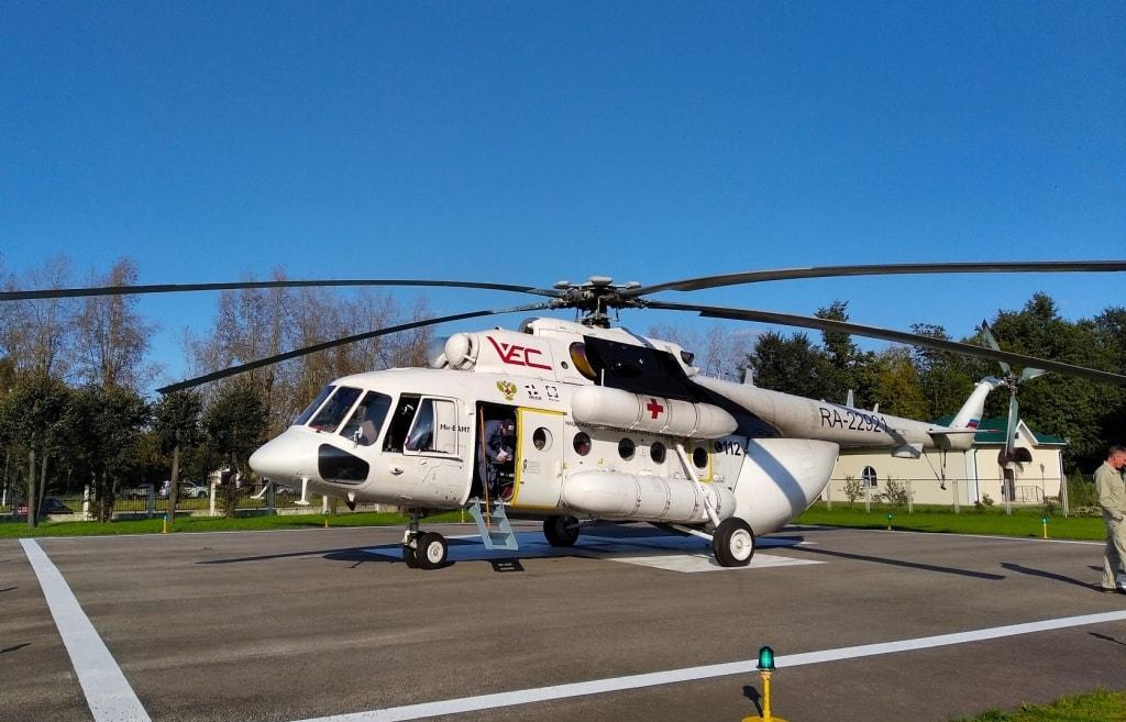 В Тверь из Удомли на вертолете доставлена тяжелобольная молодая женщина