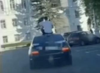 В Твери полиция проверяет владельца иномарки, устроившего шоу на улицах города - новости Афанасий