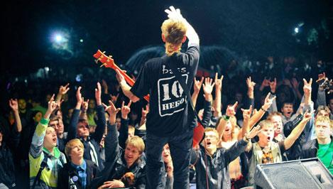 Студенты тверского Политеха отметили День знаний рок-концертом