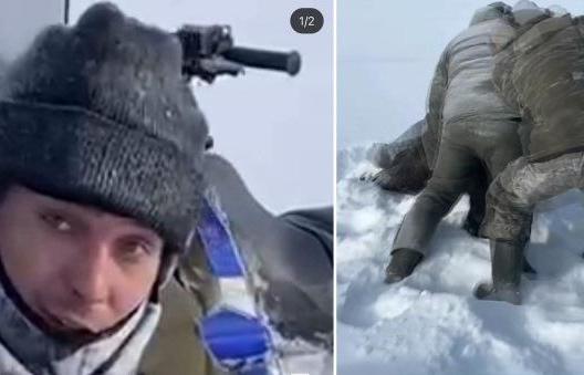 Задушившие лосиху в Тверской области браконьеры опознаны и задержаны  - новости Афанасий