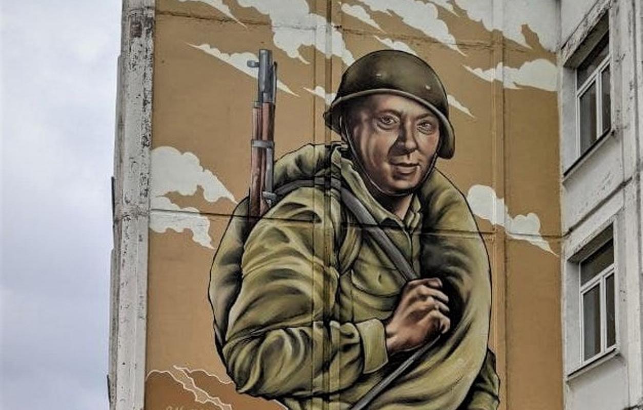 Ко Дню Победы в Твери появился новый стрит-арт