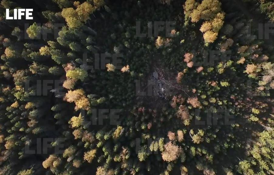 Опубликовано видео с места крушения самолета Су-30 в Тверской области - новости Афанасий