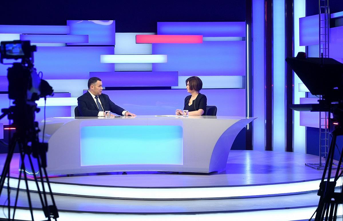 Игорь Руденя в прямом эфире рассказал о ТорВЗ, паводке и вакцинации - новости Афанасий