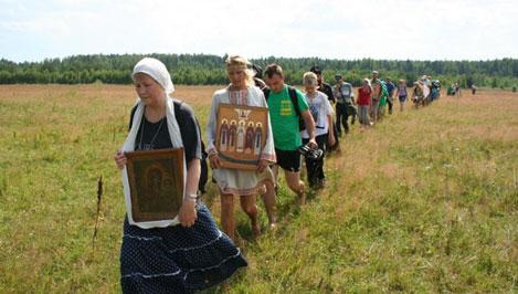 В Тверской области завершился молодежный крестный ход по берегам реки Тьмы