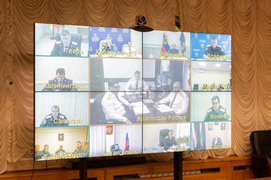 Руководитель СК по Тверской области принял участие в оперативном совещании с главой ведомства - новости Афанасий