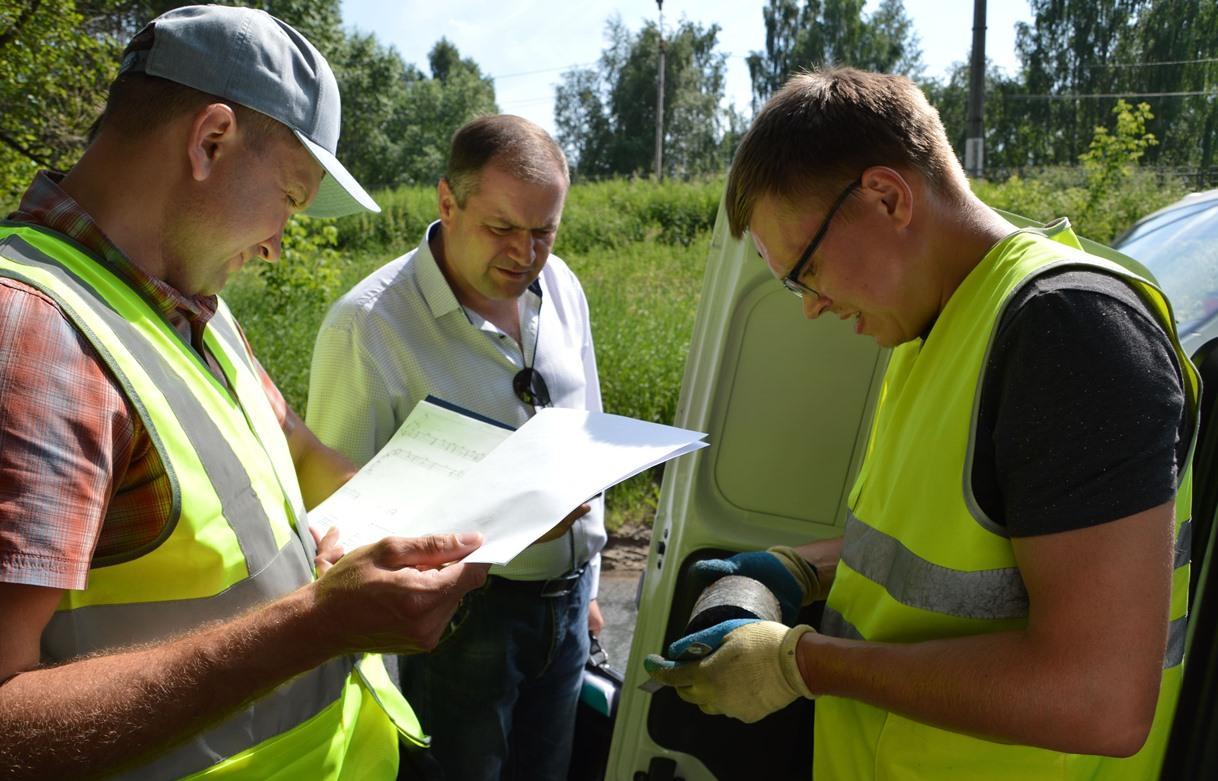 В Твери показали, как проводится контроль качества работ по ремонту дорог - новости Афанасий