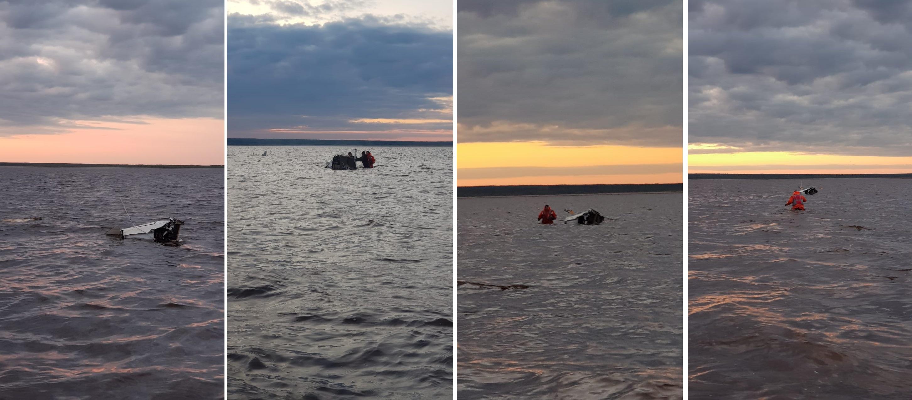 В упавшем в районе острова Мудьюг вертолете находился житель Тверской области