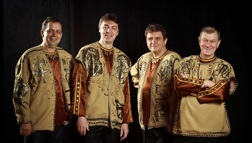 В День смеха в Тверской областной филармонии выступит Квартет русских народных инструментов «Скиф»