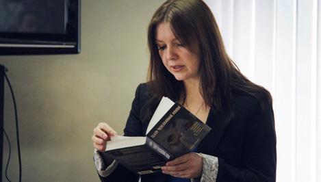 Тверская писательница Наталья Лебедева презентовала свою мистическую книгу «Театр Черепаховой кошки»