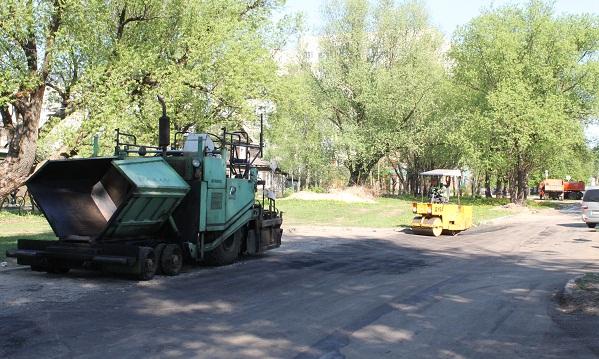 8 тысяч квадратных метров дорог отремонтировано за май в Твери