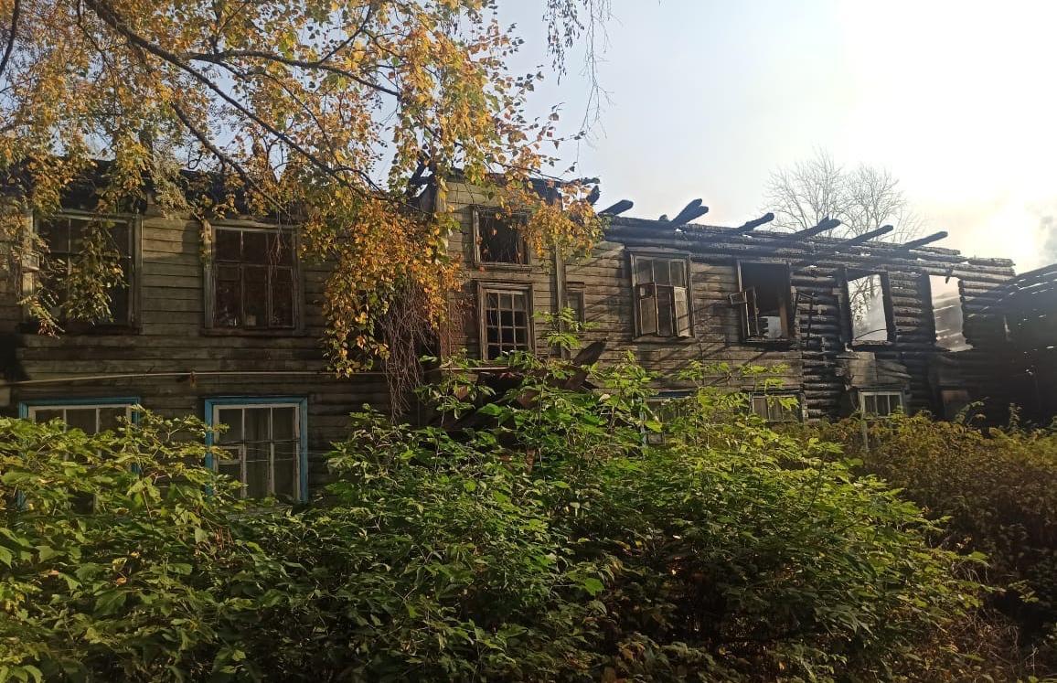 В Конаково Тверской области горел наполовину жилой дом - новости Афанасий