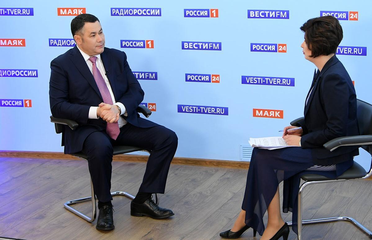 Игорь Руденя в прямом эфире расскажет о снятии ограничительных мер - новости Афанасий