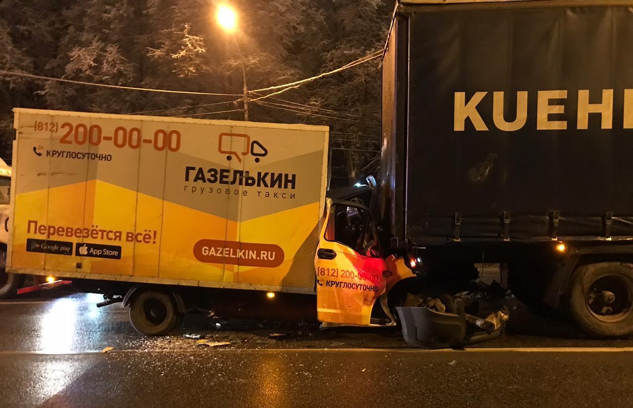 Водитель ГАЗели доставлен в больницу после ДТП на М10 в Тверской области - новости Афанасий