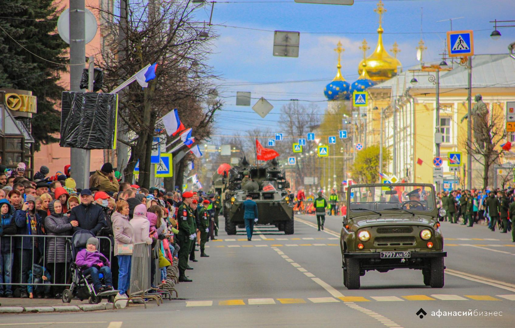 Тверскую «Золушку» с Парада Победы в Твери поощрят