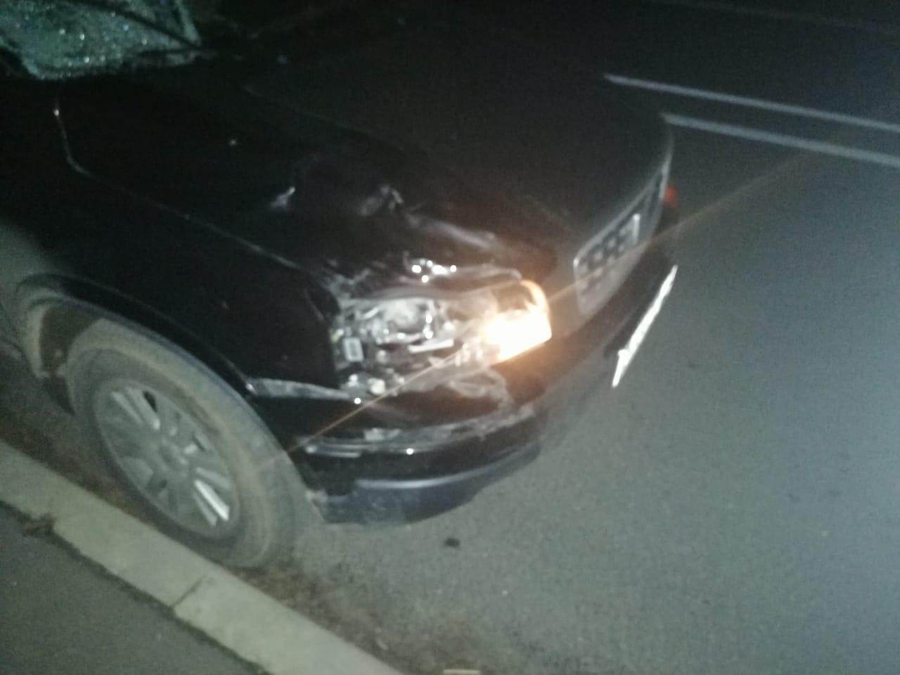В Конаковском районе под колеса машины попал нетрезвый мужчина.