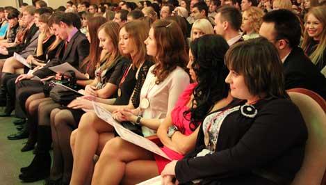 В Твери прошла церемония вручения премии «Студент года»