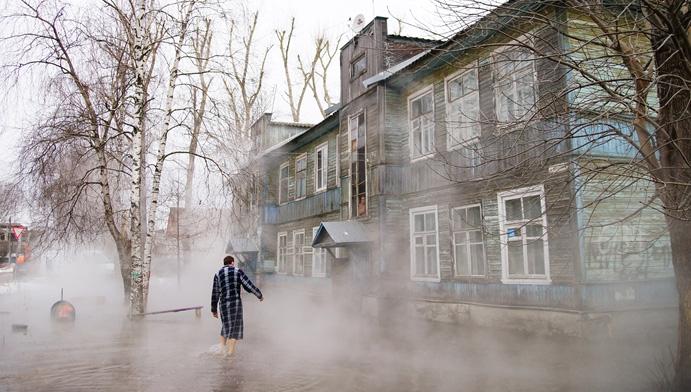 Место прорыва теплотрассы, затопившей дворы жилых домов в Твери, обнаружено
