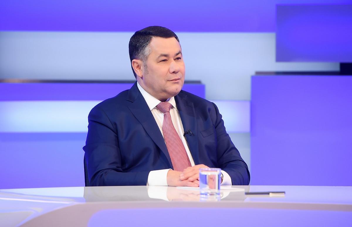 Игорь Руденя расскажет об инвестиционных проектах в прямом эфире  - новости Афанасий