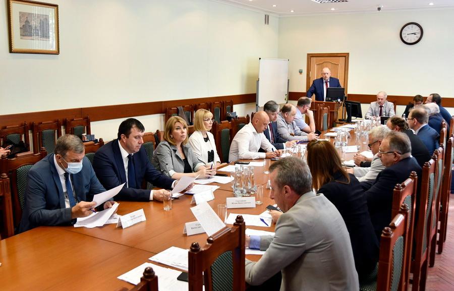 Сергей Голубев принял участие в заседании Ассоциации ВУЗов Центра России