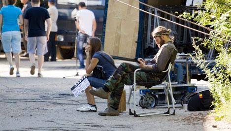 В Тверской области проходят съемки многосерийного фильма «Пороги» / фотоальбом