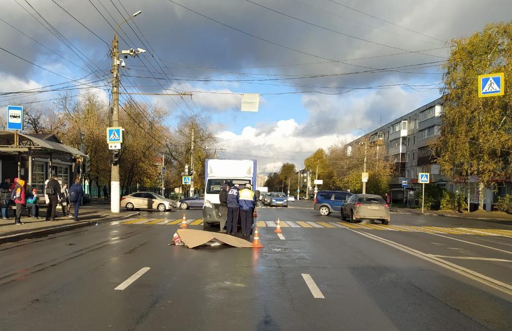 Момент смертельного наезда на дедушку в Твери заснял видеорегистратор сбившего его грузовика. Видео 18+ - новости Афанасий