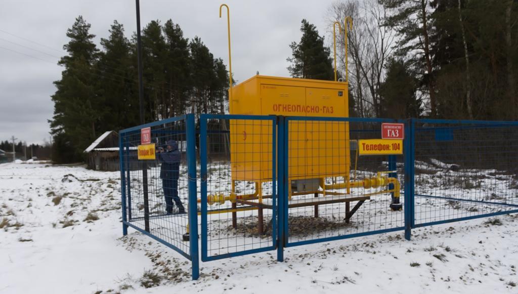 В поселок Заводской Кимрского района пришел природный газ