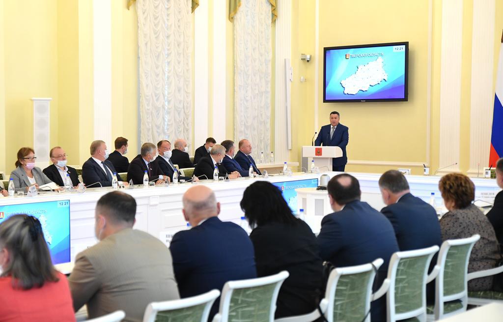 Игорь Руденя обозначил основные направления работы регионального Правительства и обновленного депутатского корпуса областного парламента