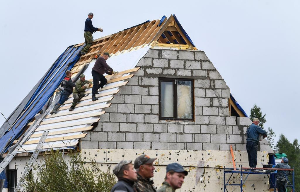 В Андреаполе Тверской уже полностью восстановлена часть домов, пострадавших от стихии