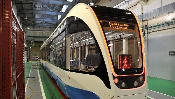 Тверские трамваи «Витязь-М» поступили в трамвайное депо Москвы