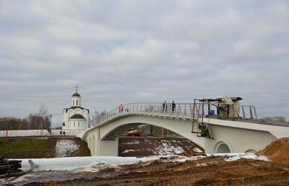 Основная конструкция нового моста в Твери готова  - новости Афанасий