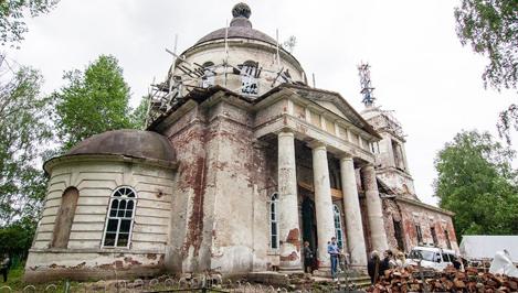 Жители Тверской области могут поучаствовать в возрождении храма в Конаковском районе