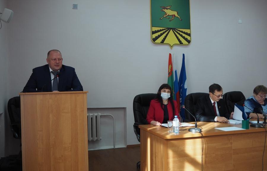 Сергей Голубев принял участие в первом заседании Оленинской муниципальной Думы - новости Афанасий